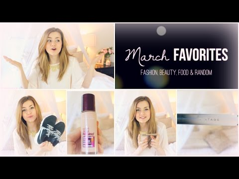 March Favorites Fashion, Beauty, Food & Random