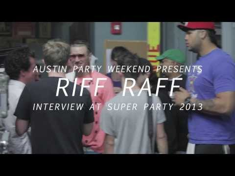 Riff Raff live at SUPER PARTY - Austin Party Weekend 2013