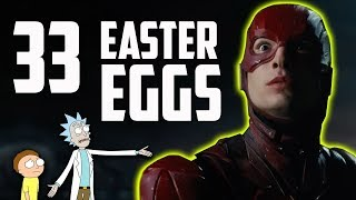 Justice League - Every Easter Egg