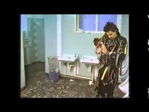 Rowan Atkinson Punk in Toilet sketch  Not the Nine O'Clock News