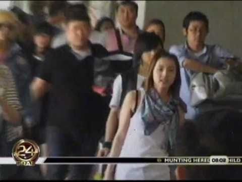 2ne1 Arrival in Manila Philippines - Chika Minute - GMA News - 06032011 Music Videos