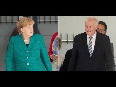 WELT-TREND Asylpolitik - Mehr Vertrauen in Seehofer als in Merkel