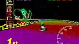 Mario Kart 64 - Rainbow Road [16/16]