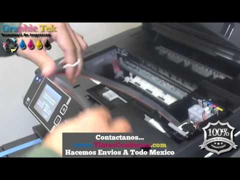 Instalacion Sistema Tinta Continua Epson WF-3640. Compatible Con WF3620. WF7110. WF7610. WF7620