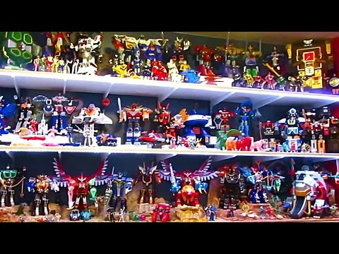 Bruno's Power Rangers Display Room Progress (and other useful things)