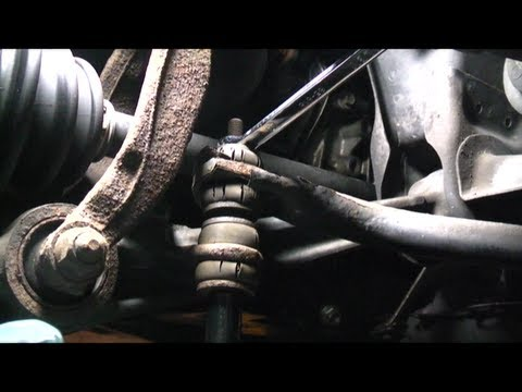 Honda Accord Sway Bar Bushings Replacement