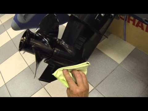 замена трансмиссионного масла в лодочном моторе hdx 5