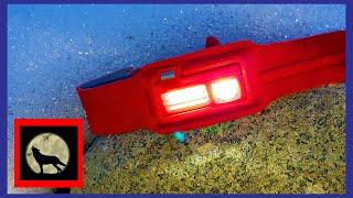 Biolite 330 Lumen Backpacking Headlamp Review - On Trail Night Footage Tests