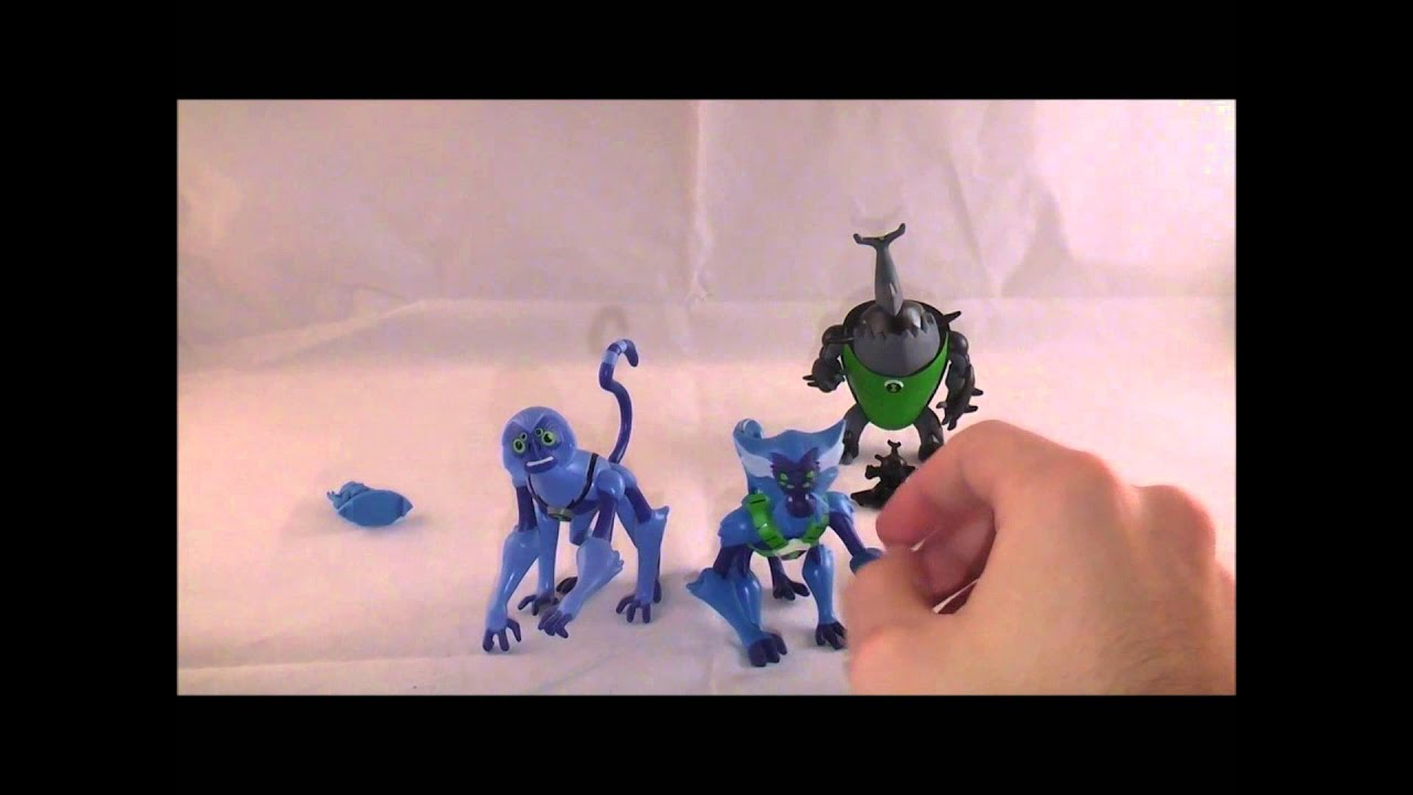 Ben 10 Omniverse Spidermonkey and Eatle Figures Review ...