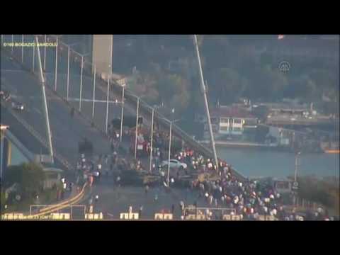 Haberler - Darbe girişimi İstanbul Büyükşehir Belediyesi kameralarına yansıdı