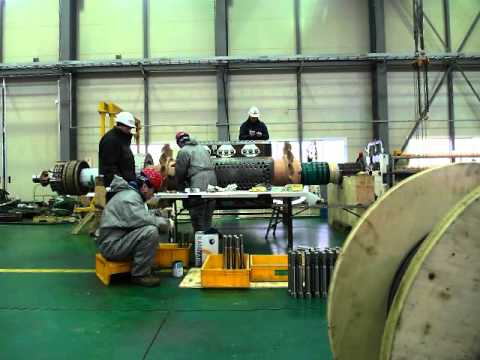 Siemens Synchronous Motor Repair for POSCO