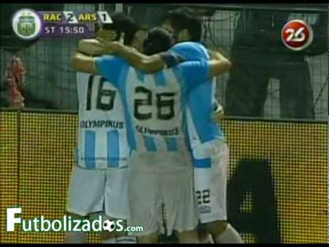 Racing 2 - Arsenal 4. Torneo Clausura 2010