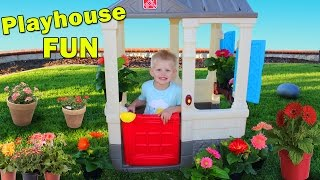Real Life Growing Plants - Step2 Cottage Playtime Fun