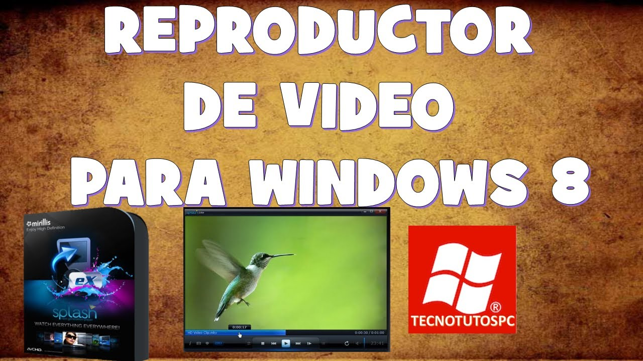 html reproductor windows: