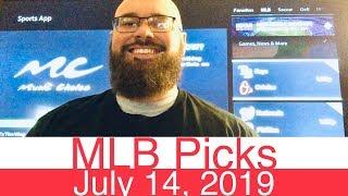 MLB Picks (7-14-19) | Part 2 of 2 | Major League Baseball Expert Predictions | Vegas Lines & Odds