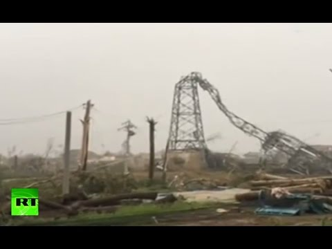 RAW: Violent storm, tornado wrecks Eastern China, deadly aftermath video