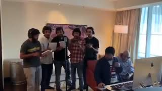 Music Director Thaman Superb Song For Janasena ¦¦ Janasena Kavathu Motivational song Recording