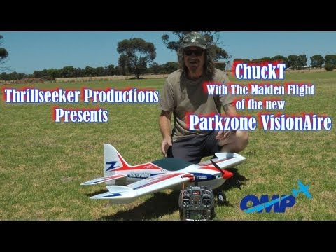 Parkzone VisionAire ChuckT with the Maiden