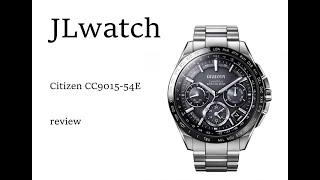 시티즌 CC9015-54E Citizen Eco-Drive F900 Satellite Wave World Time Titanium Sapphire Japan Watch