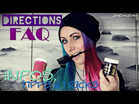 LaRiche Directions FAQ - semipermanente Haarfarbe - Infos, Tipps & Tricks by JenChaos