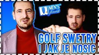 Golf Swetry i jak je nosić? Rollneck i Turtleneck - Men's Finest Polska