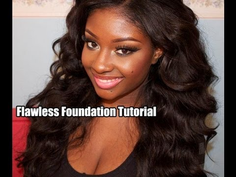 Flawless, Full-Coverage Foundation Tutorial for Acne Scarring!