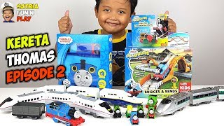 Unboxing Mainan Kereta Api Thomas Baru Part 2