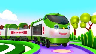 Train Cartoon for children - Kids  Videos for Kids - Thomas Train - Toy Factory - Cartoon Cartoon