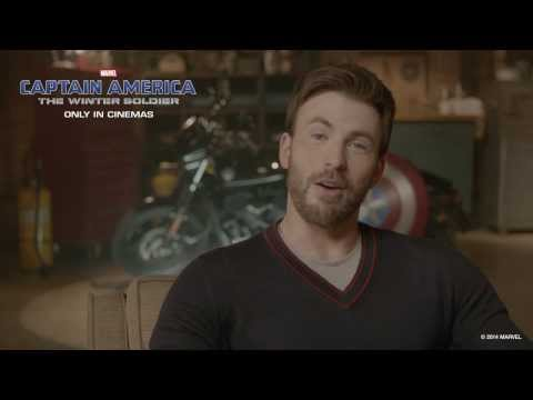 Show Chris Evans & the cast of Marvel's Captain America: The Winter Soldier your everyday hero