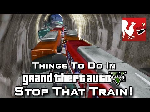 Things To Do in GTAV - Stop That Train!