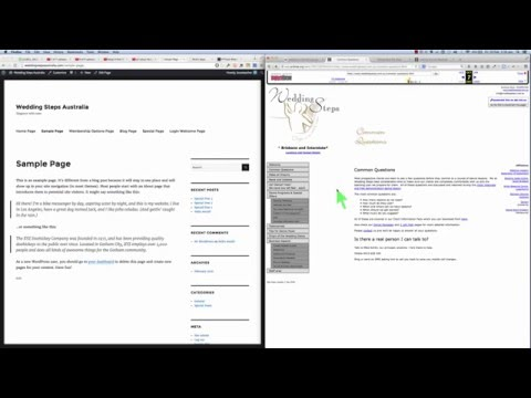 Recover a web site using the Way Back Machine internet archive