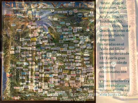 Clase de Geografía.Valle de Silicio