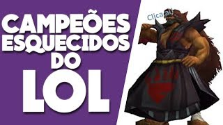 NEM EU LEMBRAVA DELES! OS CAMPEÕES MAIS ESQUECIDOS DO LEAGUE OF LEGENDS