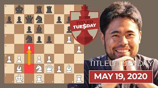 Nakamura + Giri Get In On The Action | Titled Tuesday