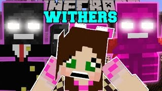 Minecraft: MO' WITHERS (RICH WITHER, WITHER GIRL, & VOID WITHER!) Mod Showcase