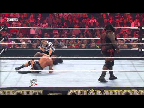 Mark Henry vs. Randy Orton - World Heavyweight Championship Match: Night of Champions, September 18,
