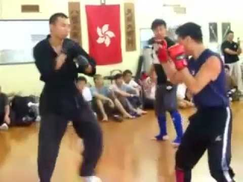 Chuojiao - light sparring at Hong Kong kungfu gathering Image 1