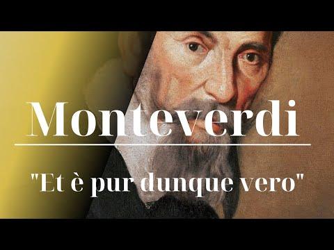 C. MONTEVERDI, Scherzi musicali – Et è pur dunque vero – Tullia Pedersoli soprano – LIVE
