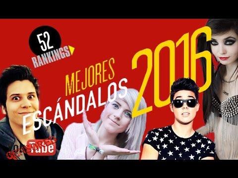 MEJORES ESCÁNDALOS EN YOUTUBE 2016