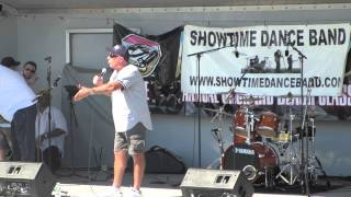 Vic Dibitetto at the Orchard Beach Classic Car Show