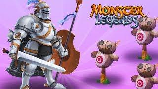 ✅ Quixote Legend $$ Đánh Nhau Với Cối Xay Gió LV 1 - 100 | Monster Legends Game Mobiles Android, Ios