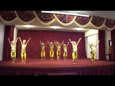 Bharatanatyam - Ganesha Sloka - Mooshika Vahana - Malari video