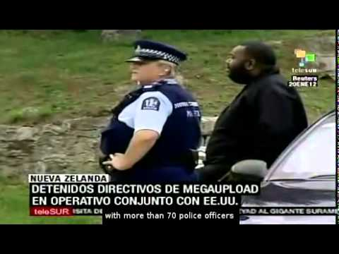 Megaupload's directors were arrested in New Zealand