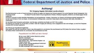 How to remove Federal Department of Justice and Police virus