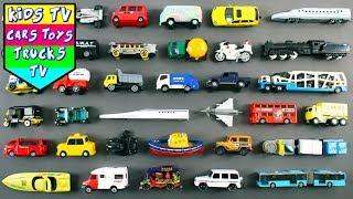 Street Vehicles For Kids Children Babies Toddlers   Car Bus Bike Truck Van Ambulance   Kids Learning
