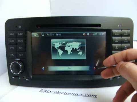 Car DVD for Mercedes W164 ML500 ML350 ML450 ML300 Navigation GPS Bluetooth