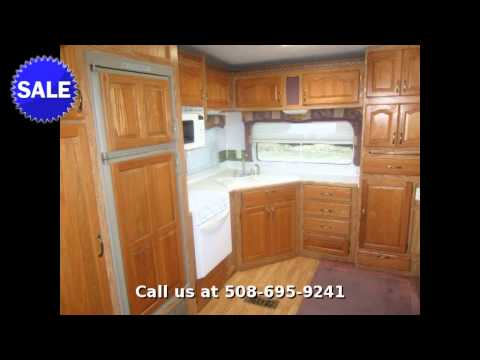2003 Forest River Cedar Creek 28RKFS, Fifth Wheel Rear Kitchen, in Plainville, MA