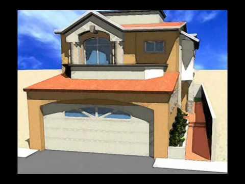 Planos de casas modelo san florencio 93 arquimex planos for Diseno de casa de 10 x 20