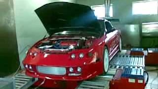 Mitsubishi Eclipse 2G AWD (GST to GSX conversion) dyno run  570nm/400hp
