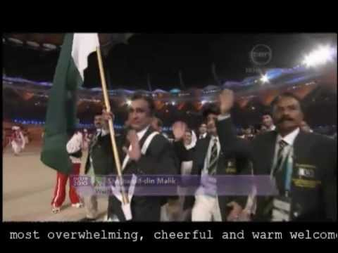 Pakistans welcome to India  Delhi CWG 2010